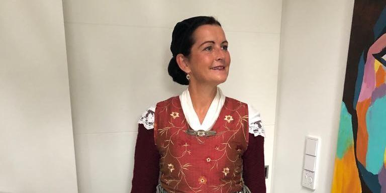 Bild von Doris Voß kostümiert als Daje